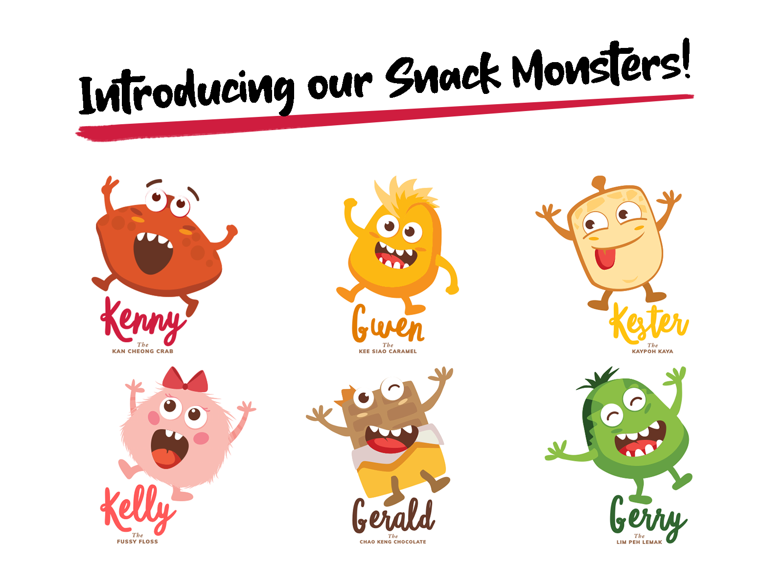 Meet our Snack Monsters!
