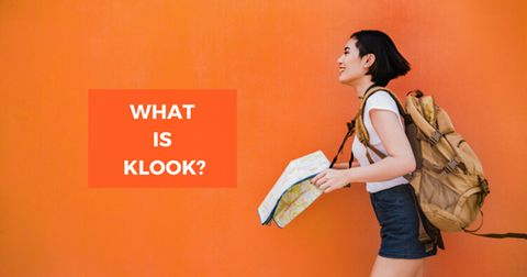An image by Klook with the question What is Klook?