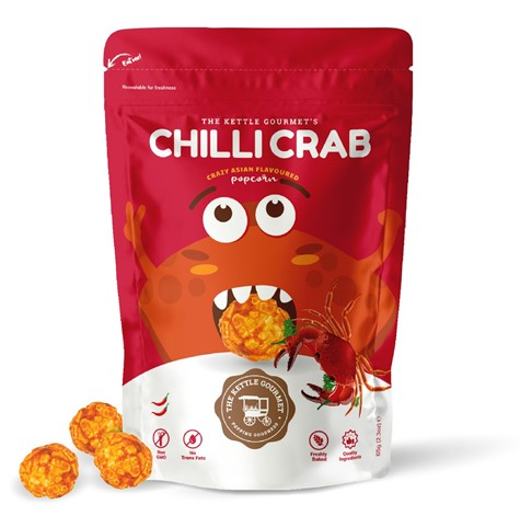 The Kettle Gourmet Chilli Crab popcorn