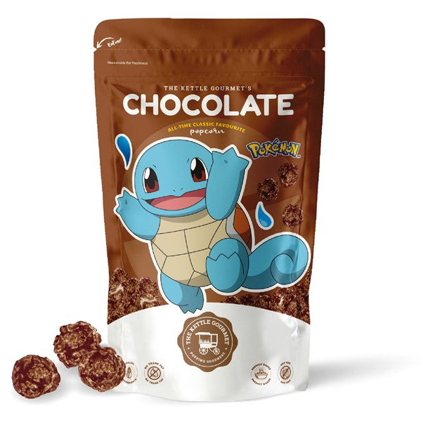 The Kettle Gourmet's Chocolate Pokemon Snack Monster featuring Squirtle
