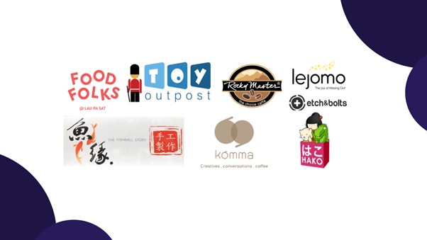 A list of The Kettle Gourmet's retail partners