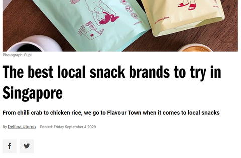 Timeout Singapore - Best Local Snack Brands to try in Singapore