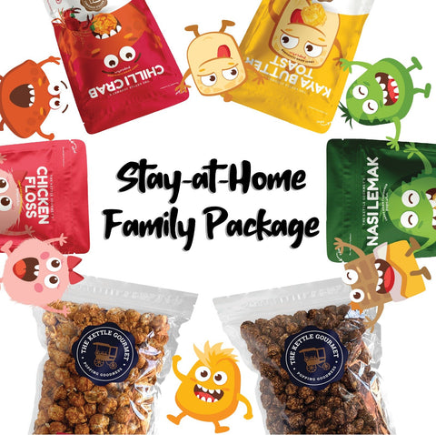 Gift box consists of 4 snack monster packs and 2 family packs. Able to request your desired flavours in the comments section when checking out.