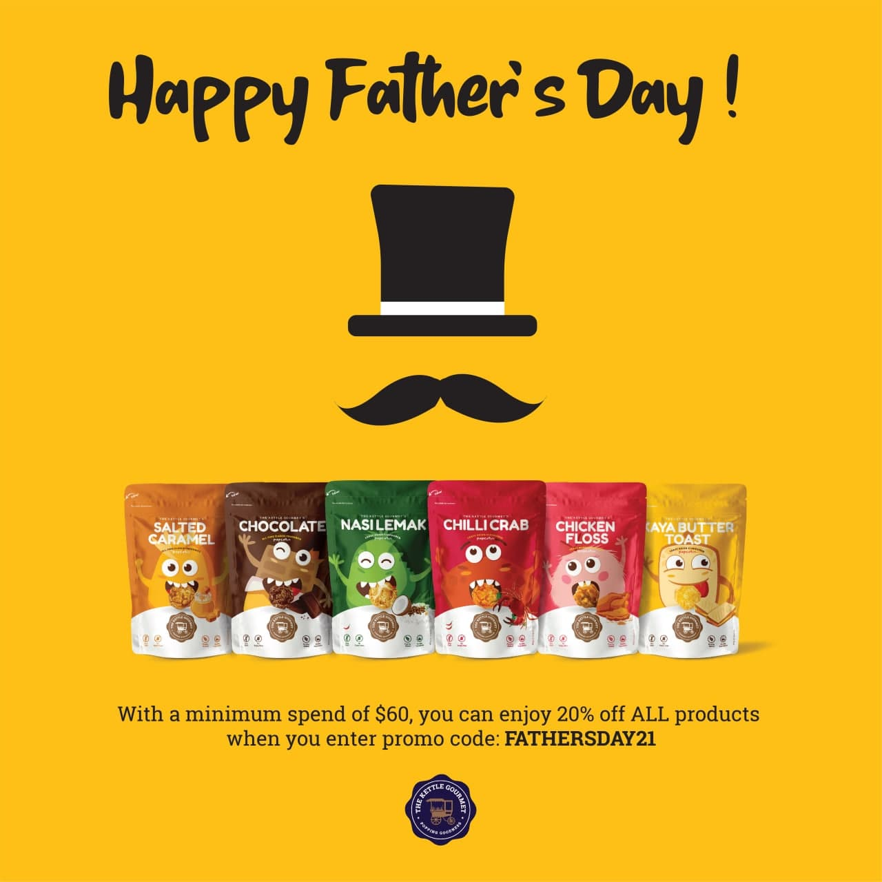The Kettle Gourmet Father's Day Promotion