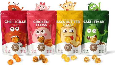 Crazy Asian Flavoured Popcorn Set