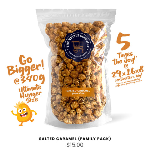 Salted Caramel (Family Pack)
