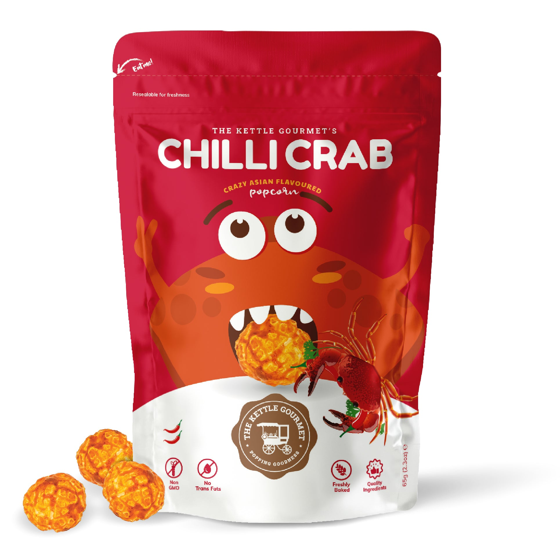 TKG Chilli Crab (Crazy Asian Flavoured Popcorn)