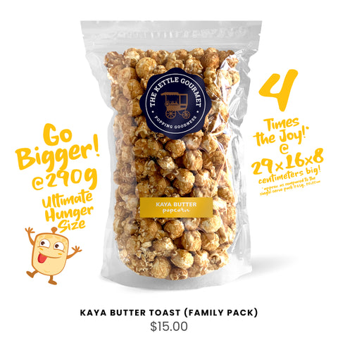 Kaya Butter Toast (Family Pack)