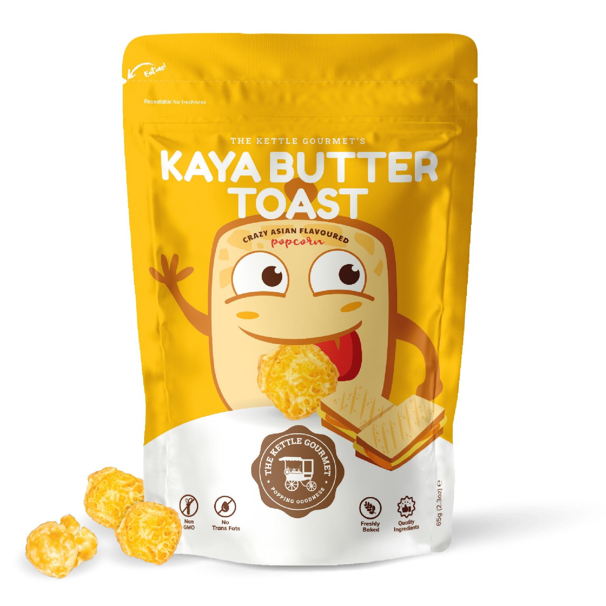 TKG Kaya Butter Toast (Crazy Asian Flavoured Popcorn)