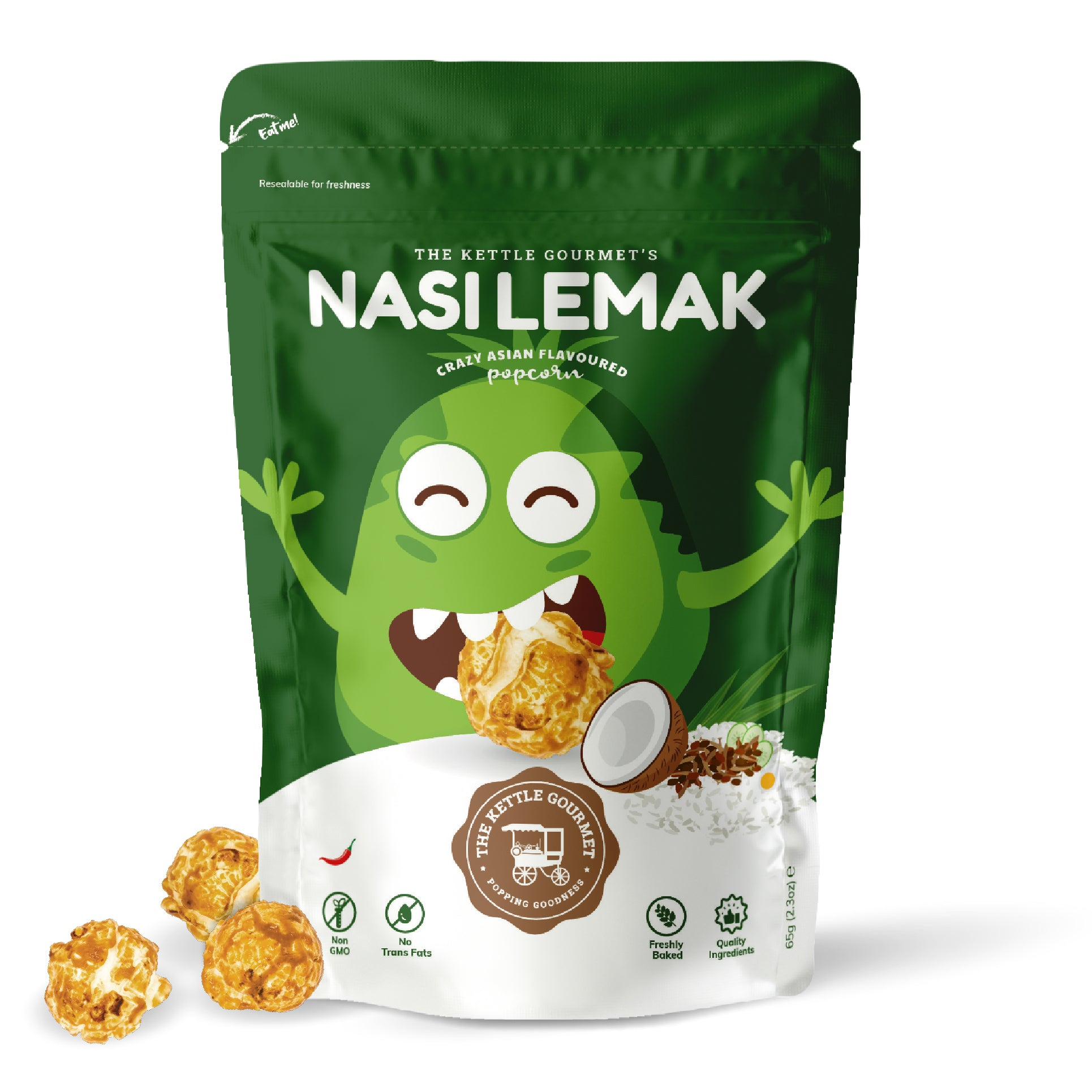 TKG Nasi Lemak (Crazy Asian Flavoured Popcorn)