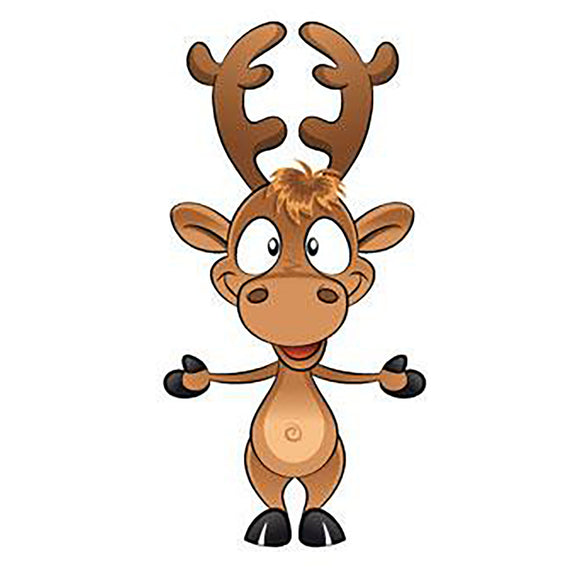 Cut Out Reindeer 🦌