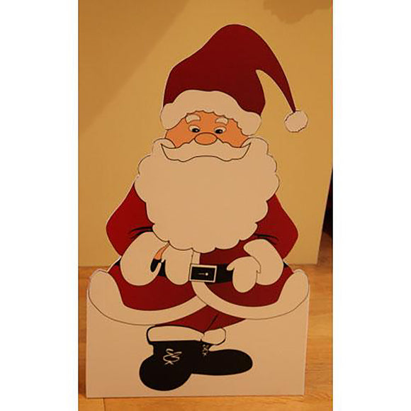 Santa Claus Cut Out with Stand 🎅