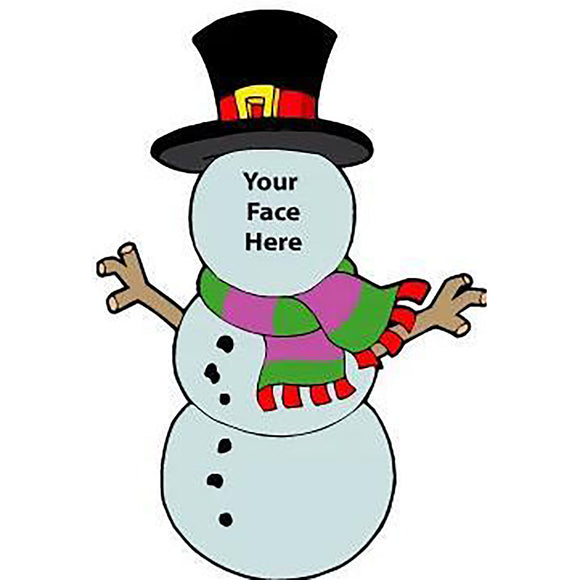 Snowman Upload Your Own Face ⛄️