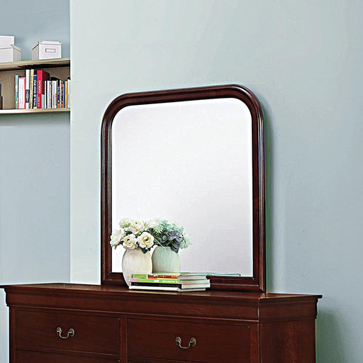 Louis Philippe Red Brown Dresser Mirror image