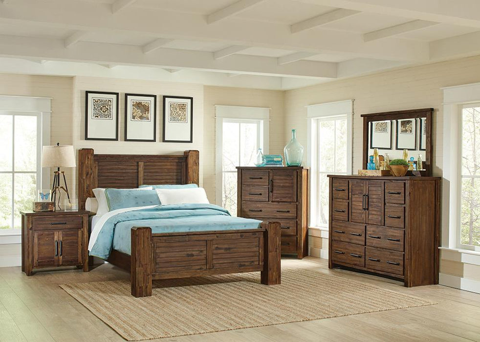 Sutter Creek Rustic Vintage Bourbon Eastern King Five-Piece Set image