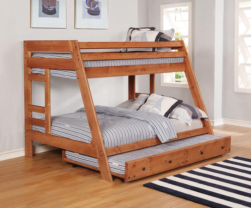 Wrangle Hill Trundle with Bunkie Mattress image