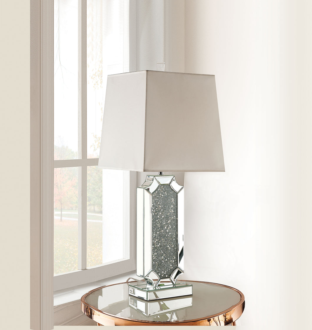 Noralie Mirrored & Faux Diamonds Table Lamp image