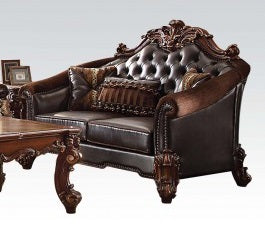 Acme Vendome Loveseat in Cherry 53131 image