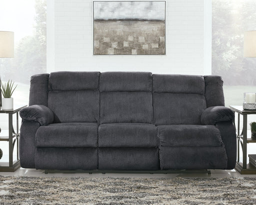 Burkner Signature Design by Ashley Power Reclining Sofa image