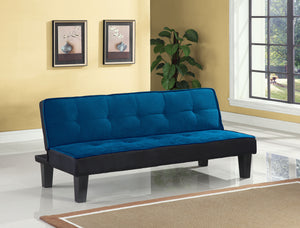 Hamar Blue Flannel Fabric Adjustable Sofa image