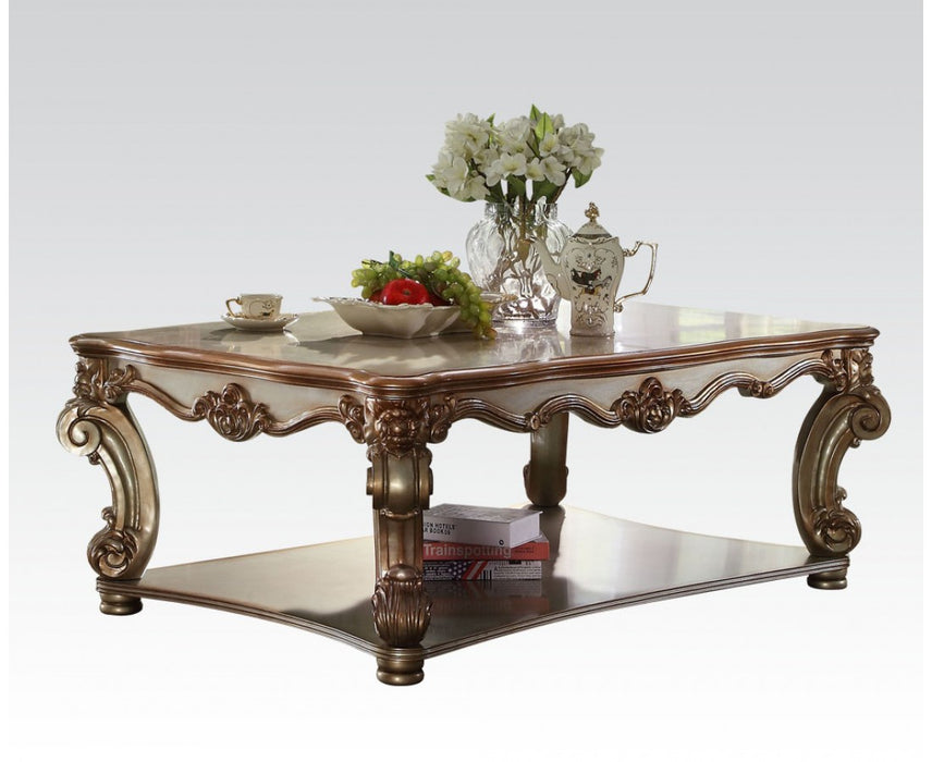 Acme Vendome Coffee Table in Gold Patina 83000 image