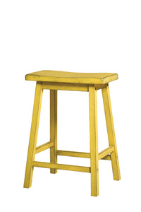 Gaucho Antique Yellow Counter Height Stool image