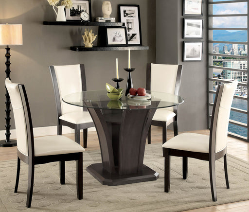MANHATTAN I Gray Round Dining Table image