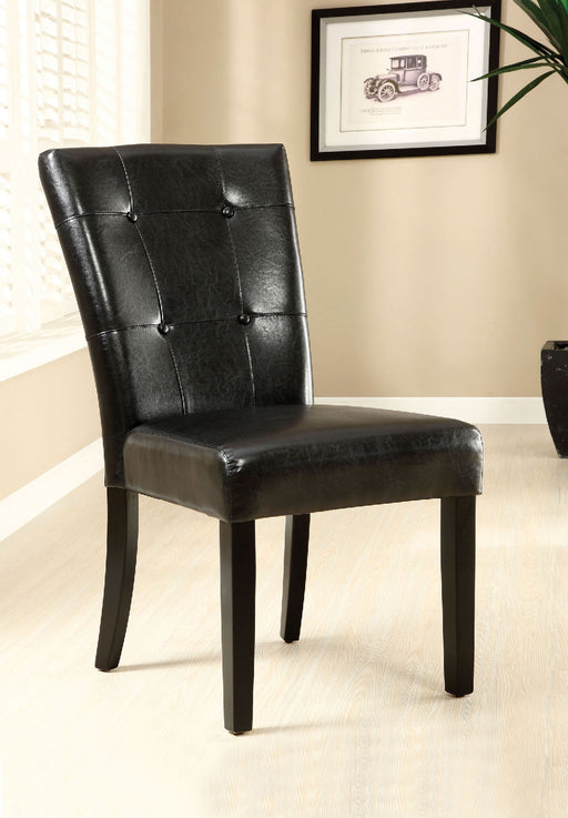 Marion I Black/Espresso Side Chair (2/CTN) image