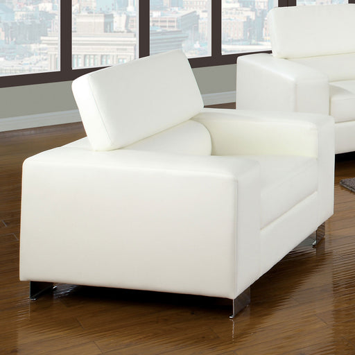 Makri White Chair, White image