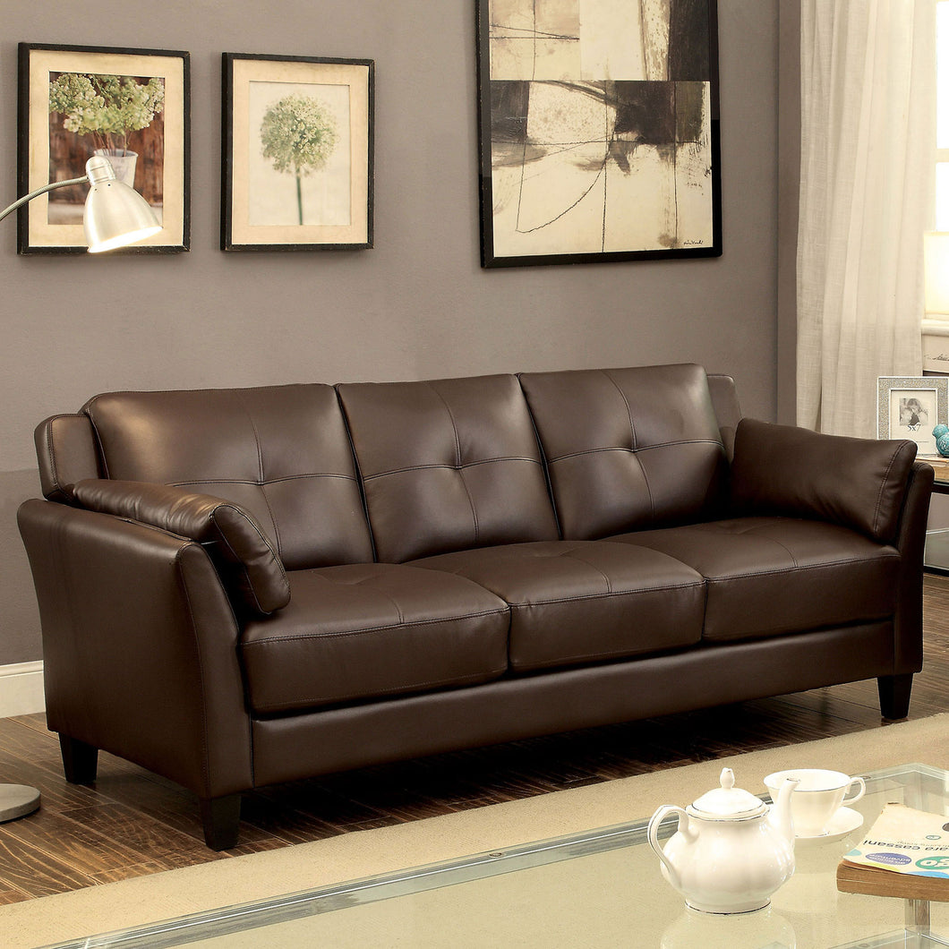 YSABEL Brown Sofa, Brown (K/D)