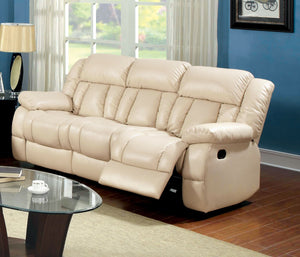 Barbado Ivory Sofa w/ 2 Recliners