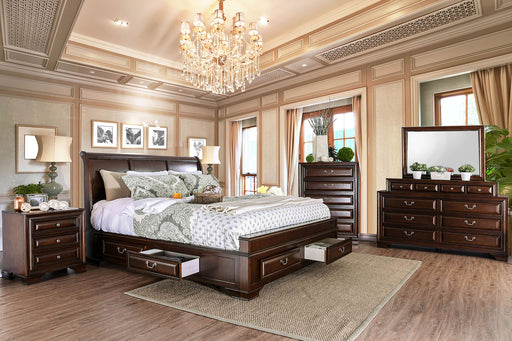 Brandt Brown Cherry 4 Pc. Queen Bedroom Set image