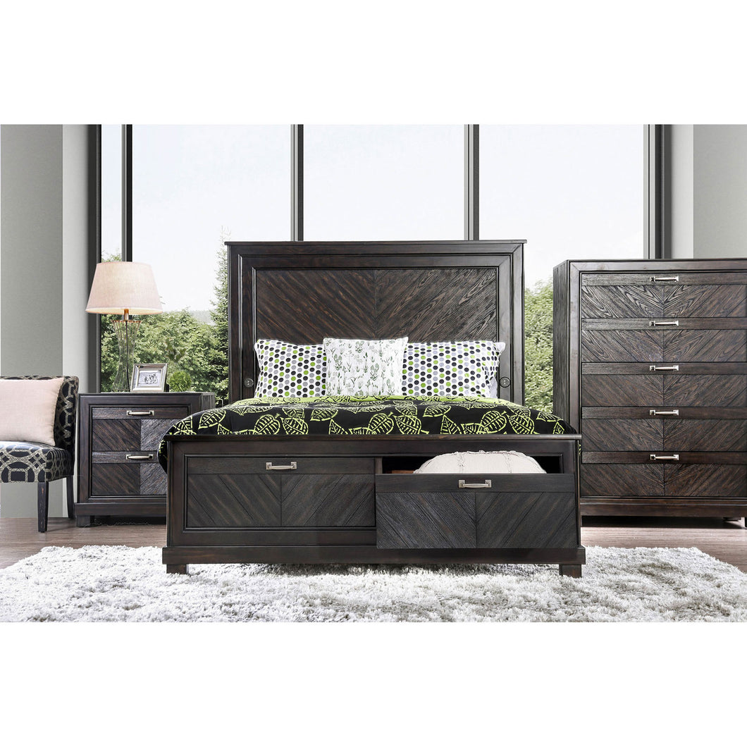 Argyros Espresso 4 Pc. Queen Bedroom Set