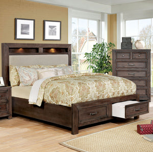 Tywyn Dark Oak Cal.King Bed