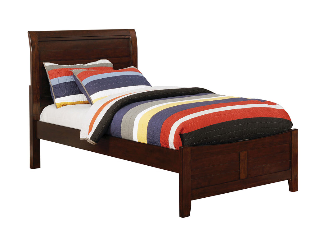 Brogan Brown Cherry Full Bed