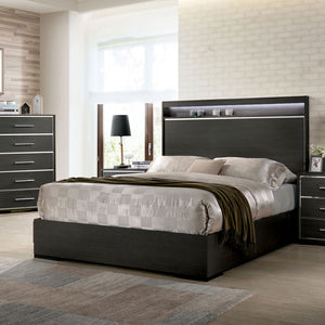 Camryn Warm Gray E.King Bed
