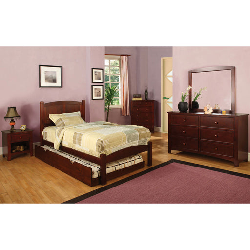 Cara Cherry 4 Pc. Full Bedroom Set image