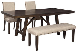Rokane Signature Design 4-Piece Dining Room Set