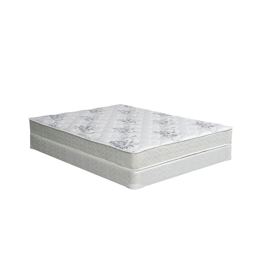 "ELBERTYNA White 8"" Tight Top Mattress, Cal.King image"