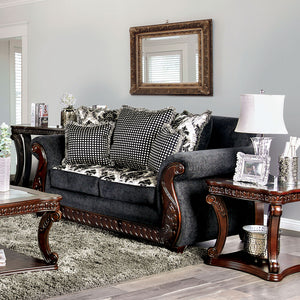 Whitland Gray Love Seat