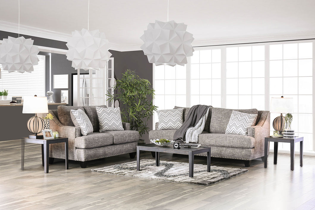 Erika Gray Sofa + Love Seat