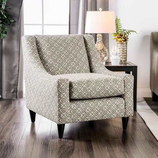 Dorset Light Gray/Pattern Square Chair image