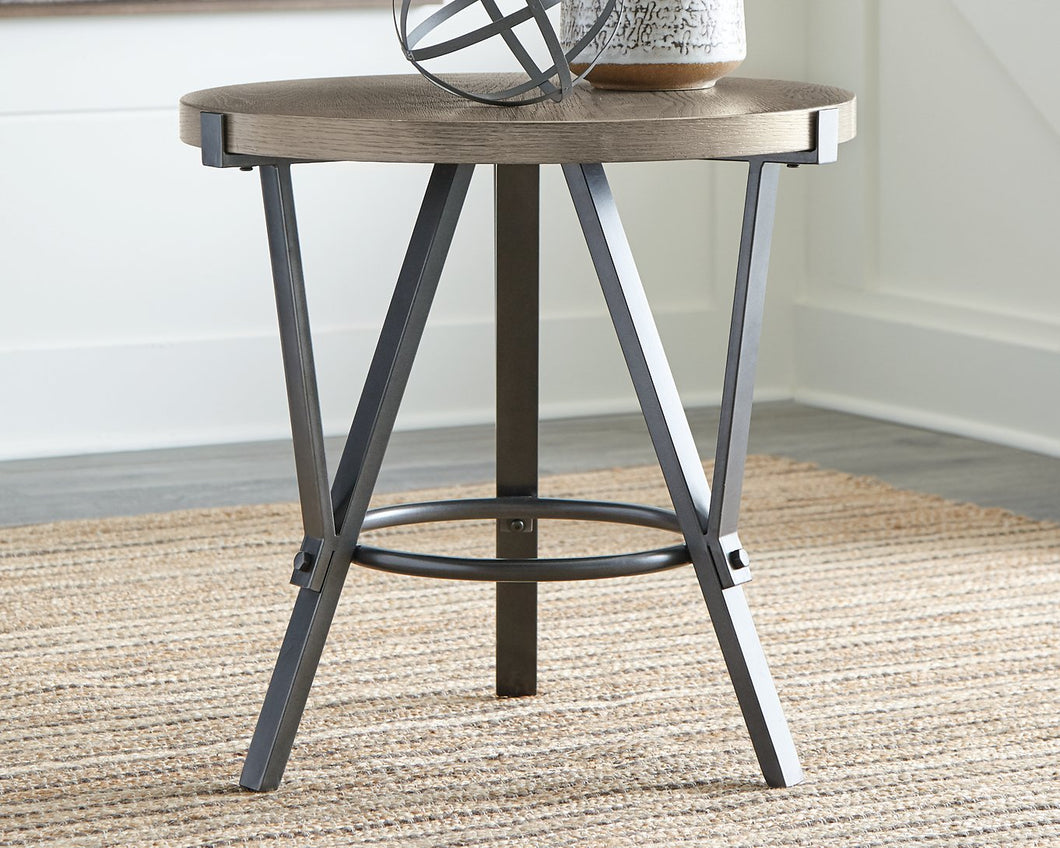 Zontini Signature Design by Ashley Round End Table image