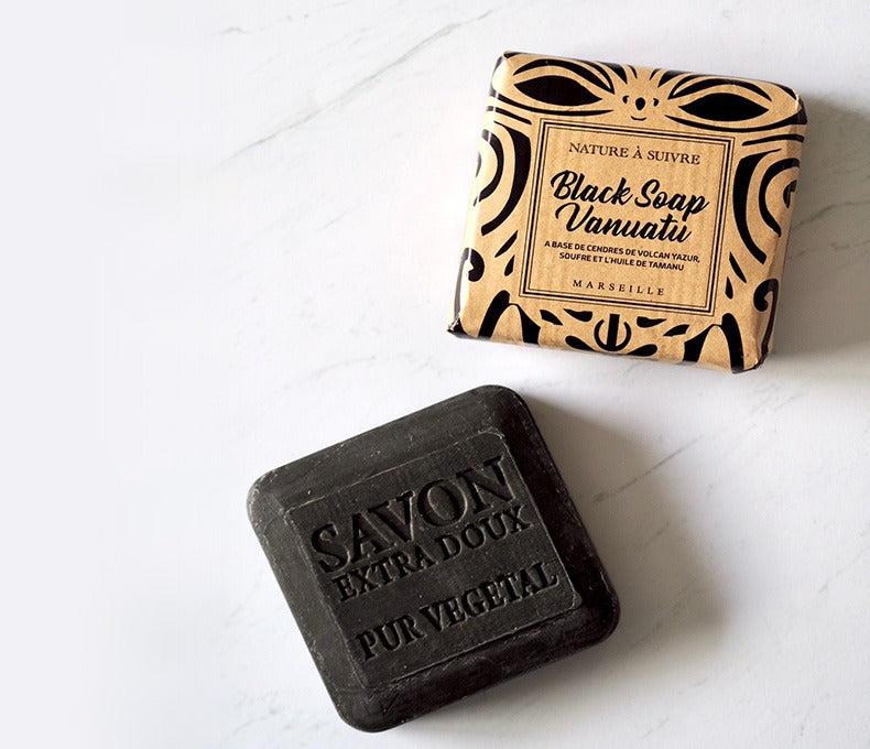 Call to action Black Soap