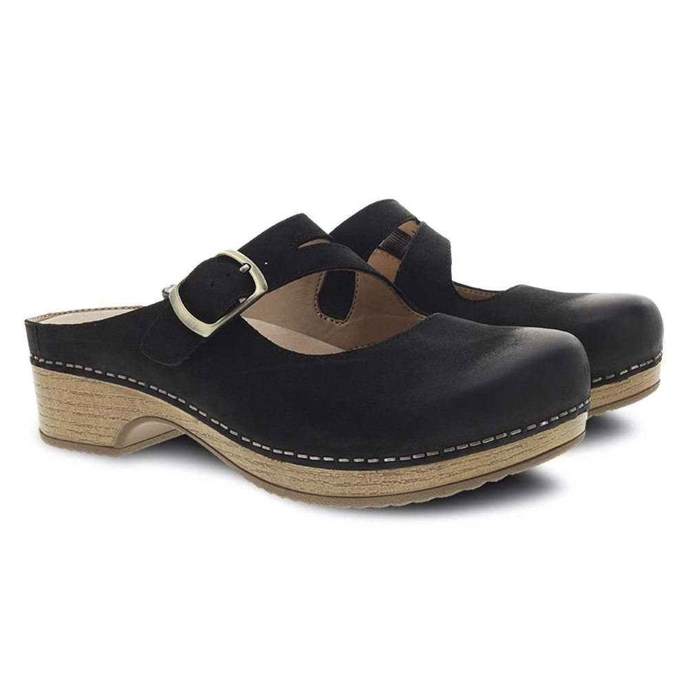 Britney Black Burnished Nubu