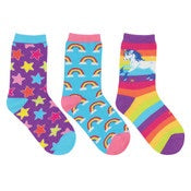 Socksmith Kids Sparkle Party 3 Pack