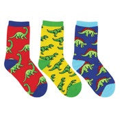 Socksmith Kids Dino-Mite! 3 Pack Socks