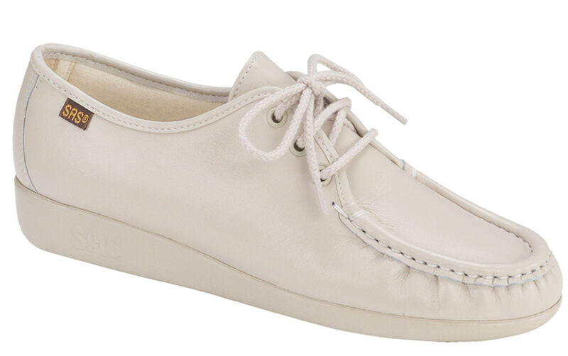 Siesta Lace Up Loafer - Bone