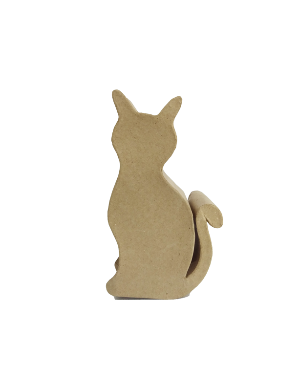 Paper Mache: Cat Coin Bank