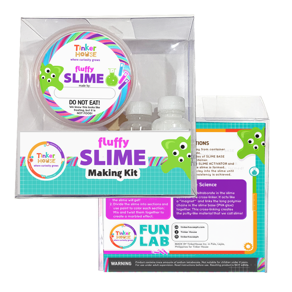 Fluffy Slime Kit